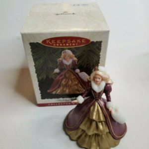 1996 Hallmark Keepsake Ornament Holiday Barbie